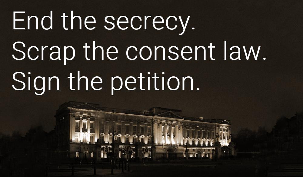 Ban royal lobbying and legal exemptions